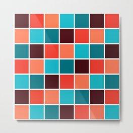 Squares I Metal Print