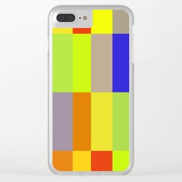 rubik Clear iPhone Case