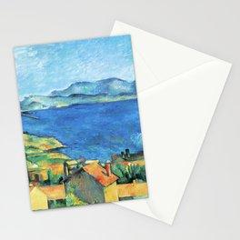 Paul Cézanne - Baie de Marseille, vue de l'Estaque -The Bay of Marseilles, Seen from L'Estaque Stationery Cards