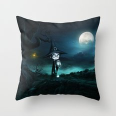 Witch at THE NIGHTMARE Throw Pillow