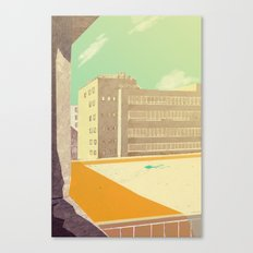window view Canvas Print