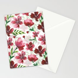 Melodramatic Floral Stationery Cards