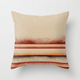 Earth - Panel 3 - Letterman Series - Triptych Throw Pillow
