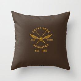 Team Seeker Throw Pillow
