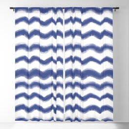 Shibori Waves #society6 #shibori Blackout Curtain