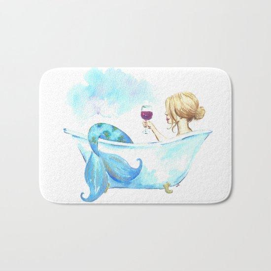 Bathtub Mermaid Bath Mat