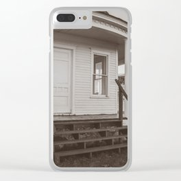 Hurd Round House, Wells County, North Dakota 27 Clear iPhone Case