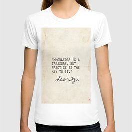 Lao Tzu old great quote T-shirt