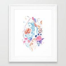 a hopeless romantic Framed Art Print