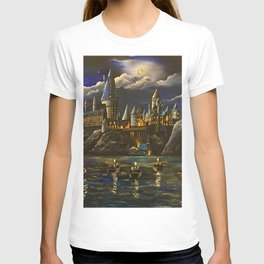 Castel at Starry night T-shirt
