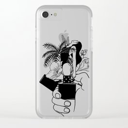 Light My Fire Clear iPhone Case