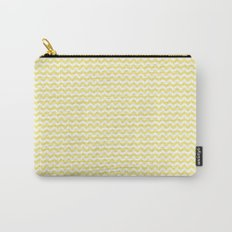 Chevron Yellow Carry-All Pouch