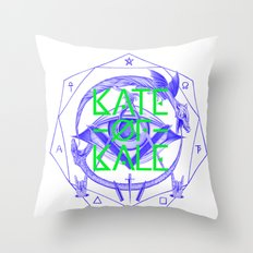 Kate of Kale's All Seeing Ch**bEye. Throw Pillow