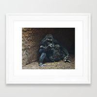 mother Framed Art Prints featuring Mother by Mary Kilbreath
