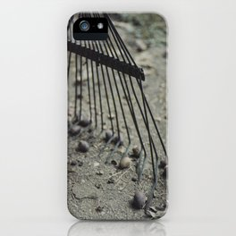 Fall Details 3 iPhone Case
