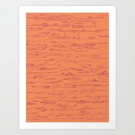 Western vibe Art Print