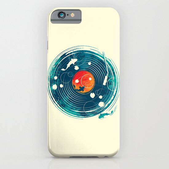 Sound of Water iPhone & iPod Case