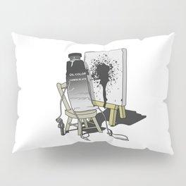 Suicidal Paint Pillow Sham