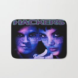 Dont Mess With Hackers Bath Mat