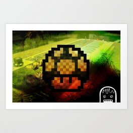 Boost Your 1's Art Print