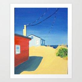 East Small Street Beach Access Art Print