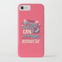 paper towns iPhone & iPod Cases featuring Paper Towns: It Beats The Alternative by Risa Rodil