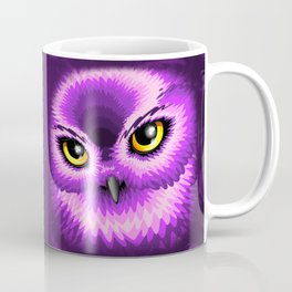 Pink Owl Eyes Coffee Mug