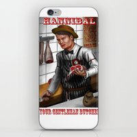 hannibal iPhone & iPod Skins featuring HANNIBAL by Gart Graphisme