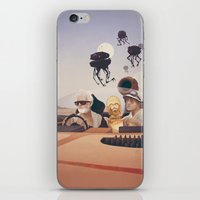 fear iPhone & iPod Skins featuring Fear and Loathing on Tatooine by Anton Marrast
