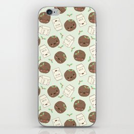 Cute Cookies and Milk for you! iPhone Skin