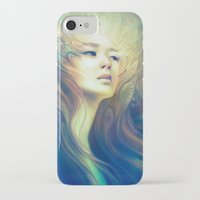 crown iPhone & iPod Cases featuring Crown by Anna Dittmann