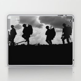 Soldier Silhouettes - Battle of Broodseinde Laptop & iPad Skin
