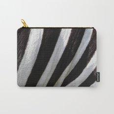 Zebra Skin Carry-All Pouch