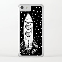 Space Adventures Clear iPhone Case