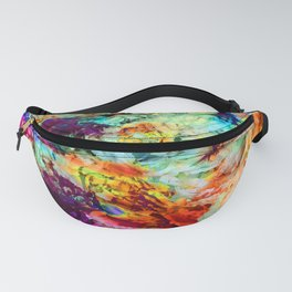 Distorted Flora 7 Fanny Pack