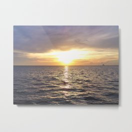 Sunrise over the Indian River Metal Print