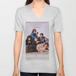 The Breakfast Club Movie Poster - Classic 80's Vintage Wall Film Art Print Photo Unisex V-Neck