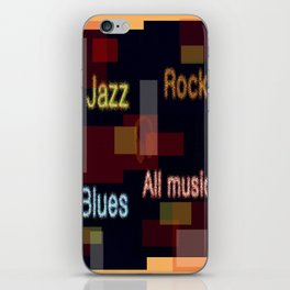 ALL MUSIC iPhone Skin
