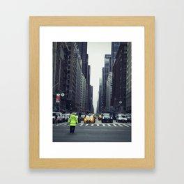 Control Framed Art Print