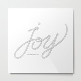 Joy – Ghost Metal Print