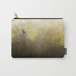 Golden Space Flight Carry-All Pouch