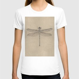 Dragonfly Fossil Dos T-shirt