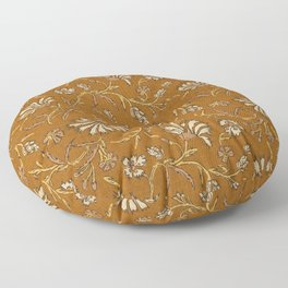 KALAMI FLORAL MUSTARD Floor Pillow