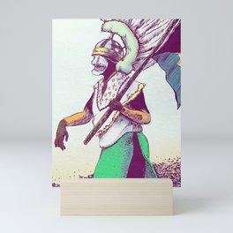 Costumed Person Mini Art Print