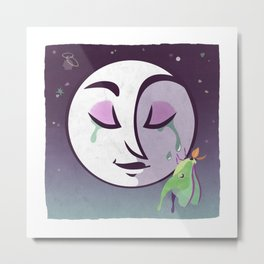 Night Blooming Metal Print