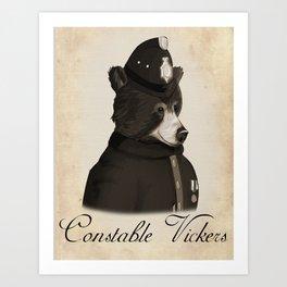 Constable Vickers Art Print