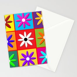 Pop Daisy Stationery Cards