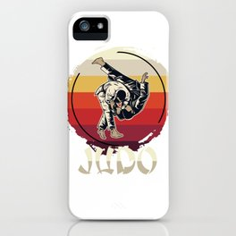 Judo Master iPhone Case
