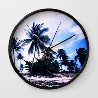 cuba Wall Clocks featuring Cuba by very giorgious