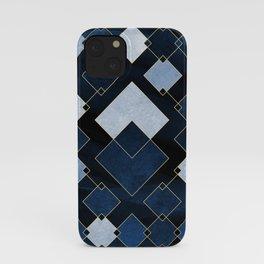 Blue Nebula iPhone Case